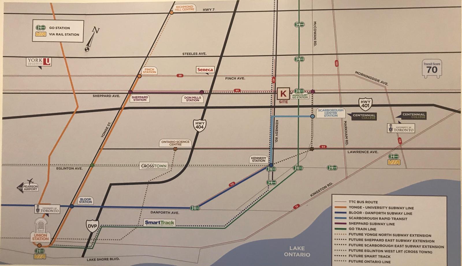 Map for K Square Condo